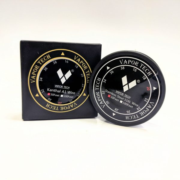 vape, vaportech, wire, rba, rda, re-buildable, supplies, kanthal, kanthal wire