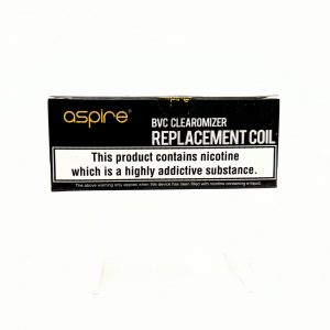 vape, vaping, coil, pack of coils, pack of 5, pack of coils, aspire, aspire bvc, 1.8 ohm