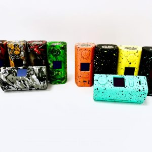 hugo vapor, rader eco, box mod, vape, 200w, watts, dual 18650, all