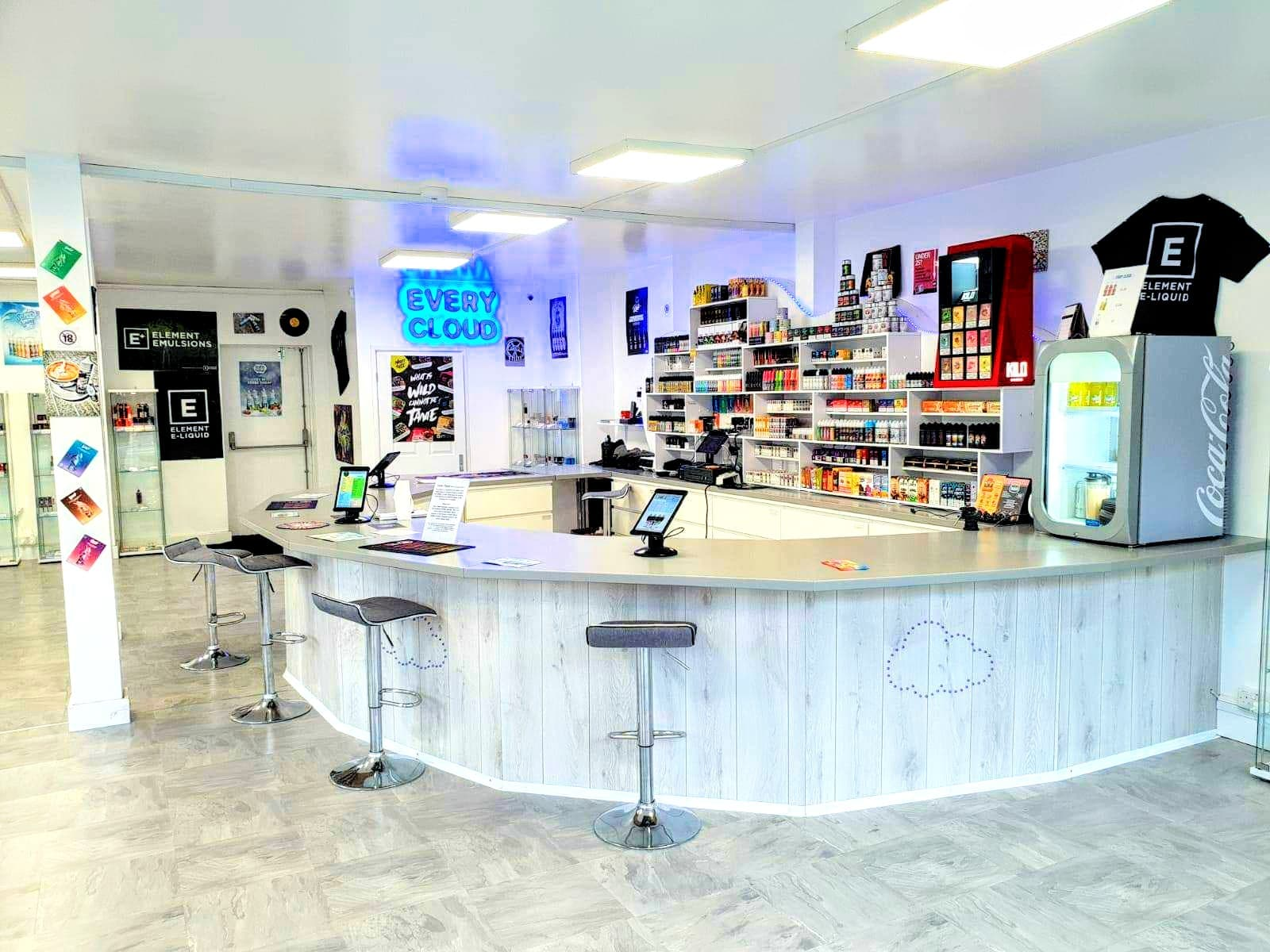 Every Cloud Vape Shop | E-liquids, Vaping Equipment and