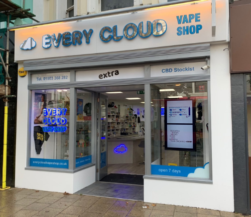 Every Cloud Vape Shop Worthing Extra