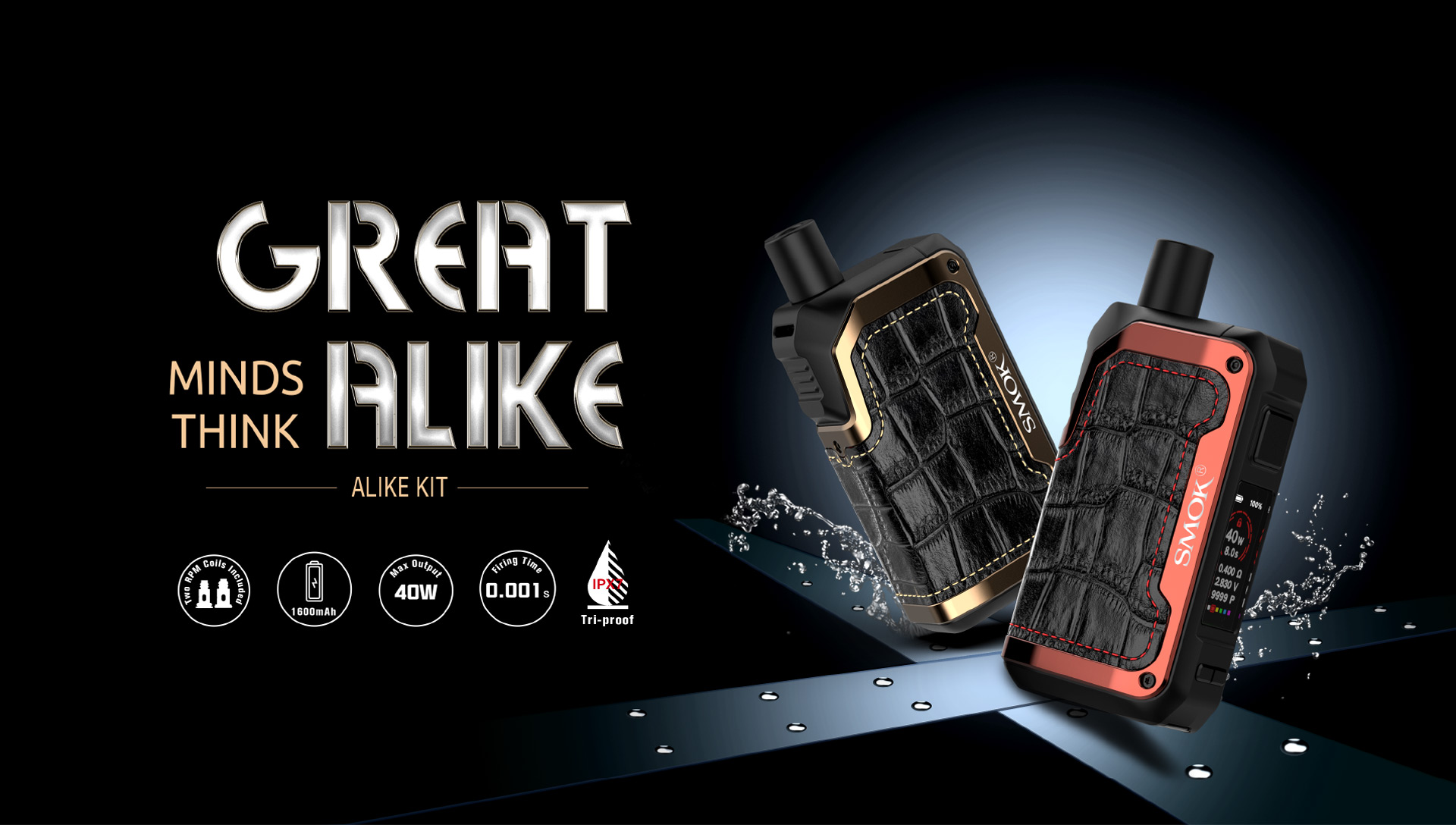 the smok alike pod kit by every cloud vape shop