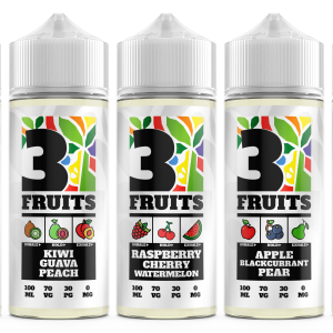3 Fruits E-Liquids | Every Cloud Vape Shop