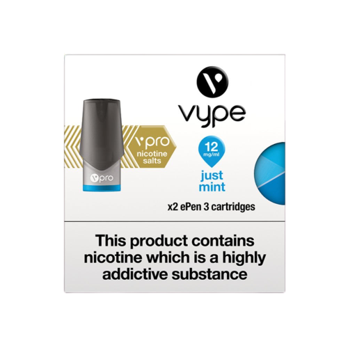 Vype ePen 3 Cap Vpro | Just Mint | Every Cloud Vape Shop